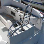 """""""Dysma"""" Siedzisko sternika na łódce."""